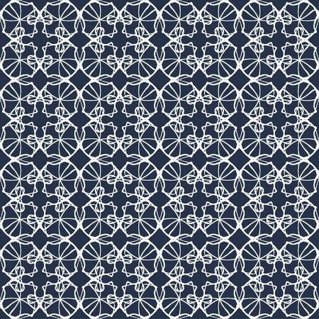 thin white lines vintage seamless pattern illustration