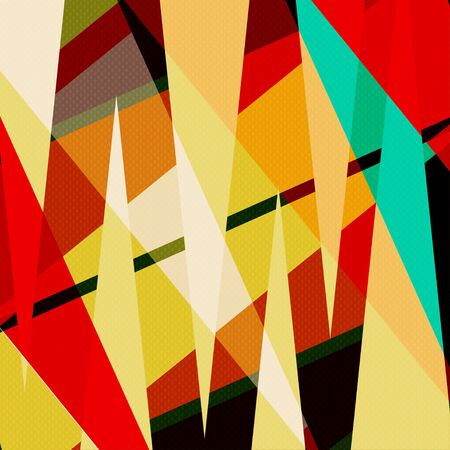 beautiful abstract geometric colorful background illustration