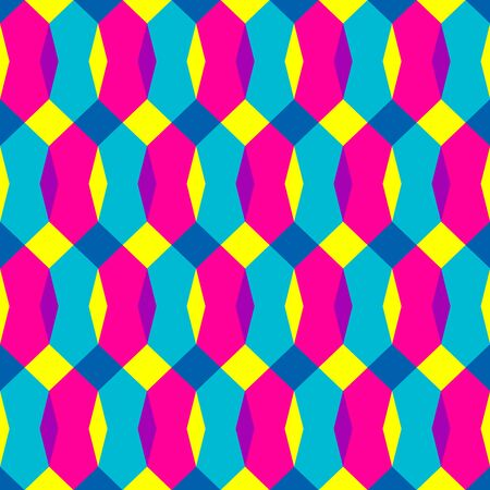 geometric abstract color seamless pattern quality illustration for your design Фото со стока