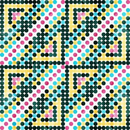 small colored gentle circles for your design geometric pattern Reklamní fotografie - 134023942