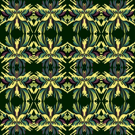 beautiful old color seamless pattern