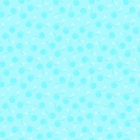 abstract blue gentle seamless background for web site
