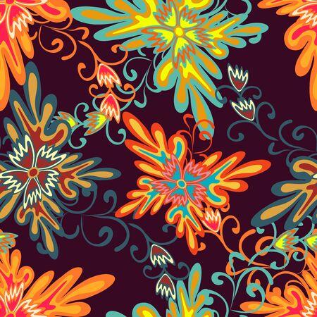 grunge colored graffiti seamless pattern vector illustration Reklamní fotografie - 134024225