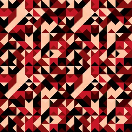 polygons psychedelic colored geometric background pixels Imagens