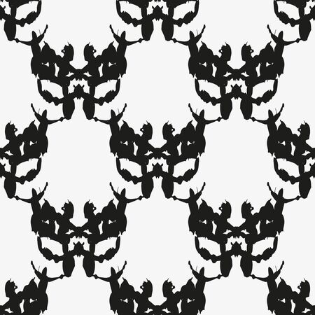 black white abstract seamless pattern for design Reklamní fotografie