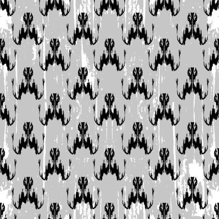 Graffiti abstract seamless pattern grunge effect illustration