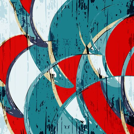 abstract color pattern in graffiti style Quality illustration for your design Archivio Fotografico - 134025739