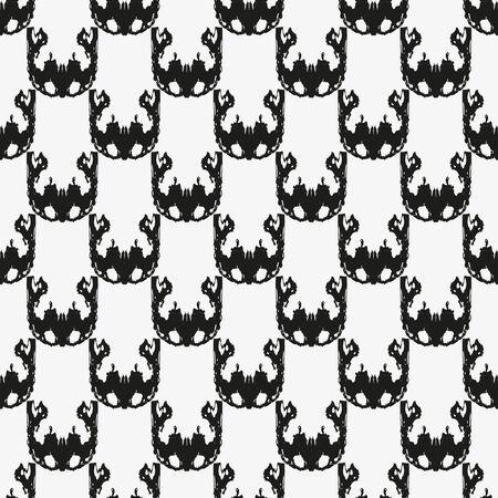 beautiful geometric background seamless pattern graffiti Archivio Fotografico - 134025740