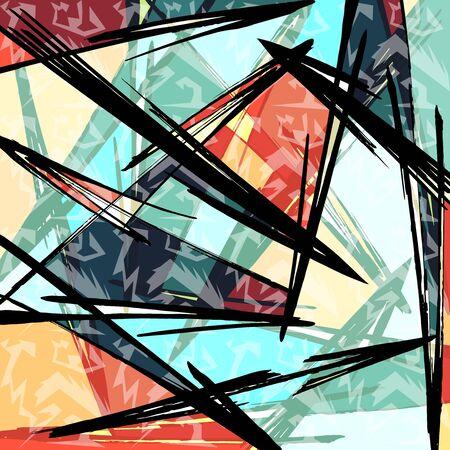 bright psychedelic pattern for your design quality illustration Archivio Fotografico - 134025746