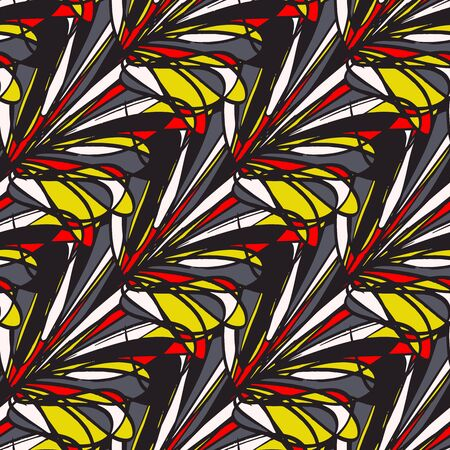 color abstract geometric seamless pattern quality illustration for your design