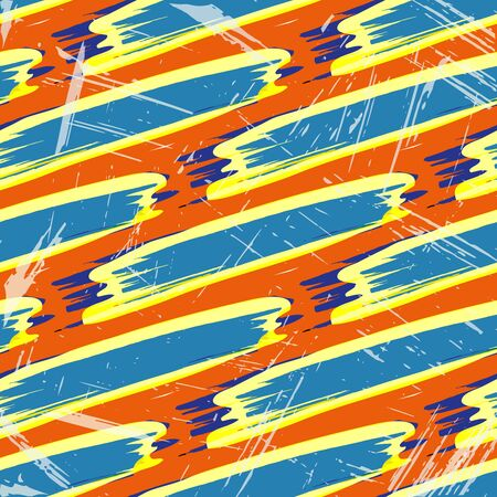 beautiful geometric background seamless pattern graffiti Archivio Fotografico - 134025826