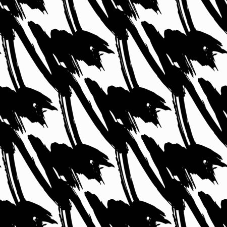 Black-white abstract pattern qualitative illustration for your design