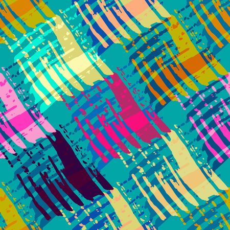 bright abstract pattern in the style of graffiti qualitative illustration for your design Stock fotó