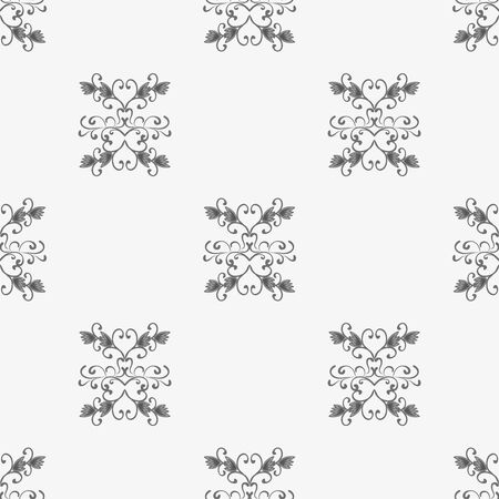 monochrome pattern urban style ethnic ornament Seamless abstract illustration for your design 版權商用圖片 - 140118057