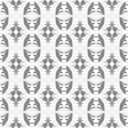 monochrome pattern urban style ethnic ornament Seamless abstract illustration for your design 版權商用圖片 - 140118631