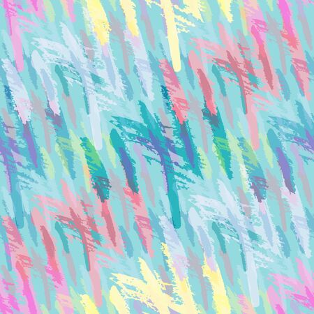 color abstract ethnic seamless pattern in graffiti style with elements of urban modern style