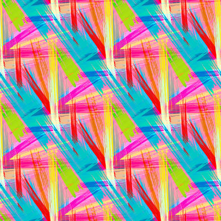 color abstract ethnic seamless pattern in graffiti style with elements of urban modern style bright quality illustration Illusztráció