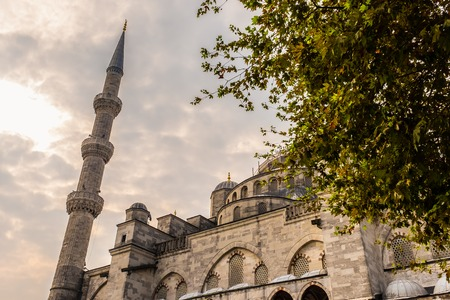 The Blue Mosque Sultanahmet Istanbul, Turkey. Islamic architecture