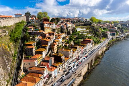 Cityscape of Porto, view of the old European town Reklamní fotografie