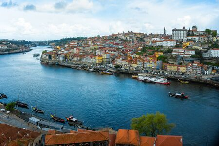 Porto historical city center and Douro river, Portugal Reklamní fotografie