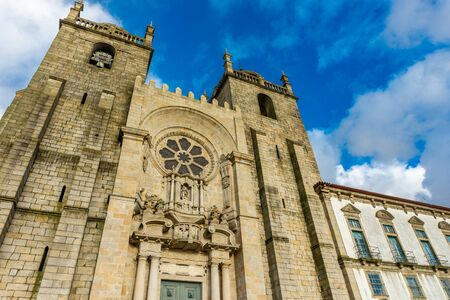Romanesque Cathedral of Porto, Portugal is a Roman Catholic church located in the historical center of Porto city Reklamní fotografie