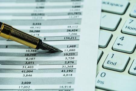 Checking balance - preparation of a balance sheet. Financial business planning, Balance the investment portfolio.
