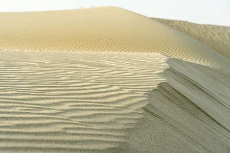 Sand of desert, nature background