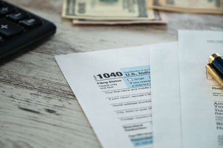 Form 1040 U.S. Individual Income Tax, Time of refund of tax.