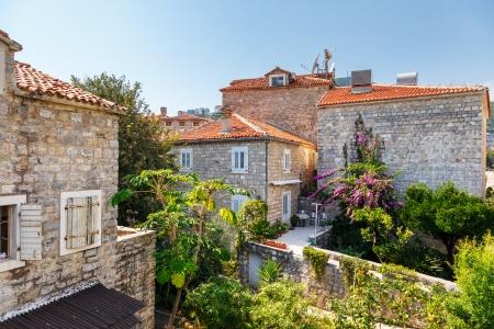 montenegro: View on old town of Budva  Montenegro, Balkans, Europe  Beauty world