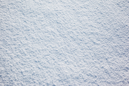 View of snow texture, abstract natural background with copy space.