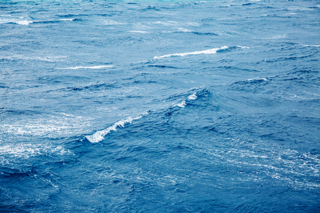 Rapid sea while sailing ship. Wonderful natural background. Phenomenon of nature. Dramatic and picturesque scene. Beauty world.