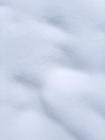 View of snow texture, abstract natural background with copy space Stock Photo