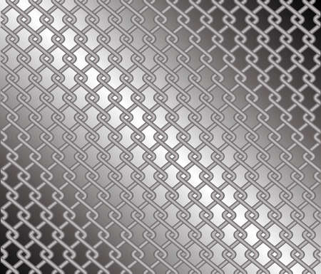 jail cell: Mesh fence against a grey diagonal gradient