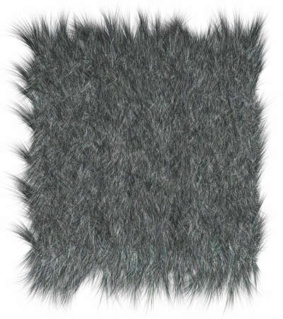 Wolf skins texture - close-up. Stock Photo - 8019382