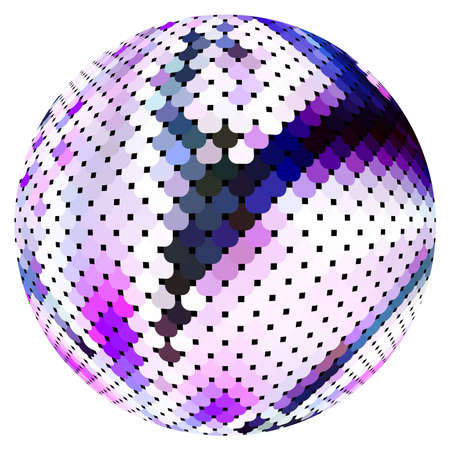 Scaled ball Stock Vector - 9808070