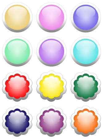 colorful buttons photo