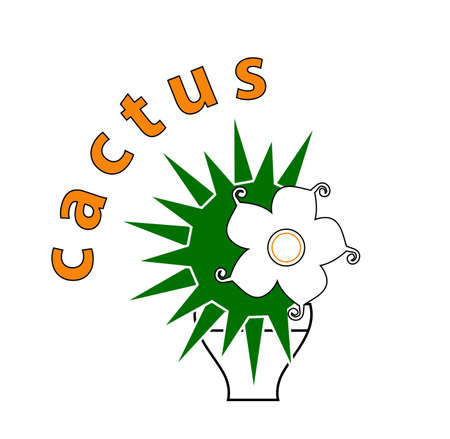 Cactus_2 Vector