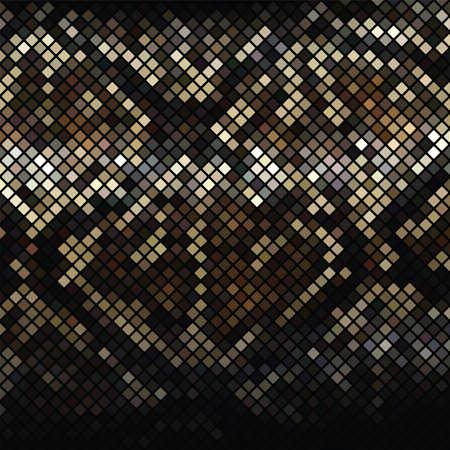Mosaic Snake Skin  Vector