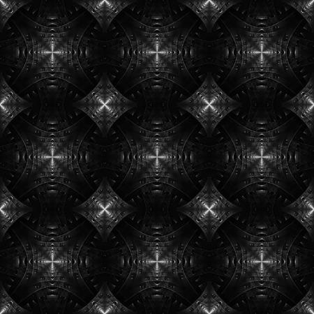 Steel geometrical background. photo