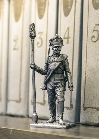 tin: Tin Soldier Stock Photo