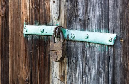 Old lock photo