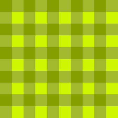 countrylife: Sample pretty seamless bright green checkered fabric.