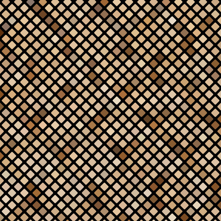 snakeskin: Brown mosaic imitating a snake skin. There is an option in the vector.