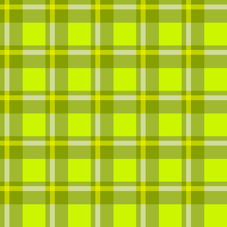 whithe: Sample pretty seamless bright green checkered fabric.