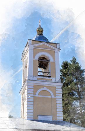 Architectural sketch Belfry Church