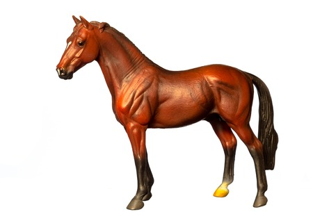 Figure of a horse Stock Photo