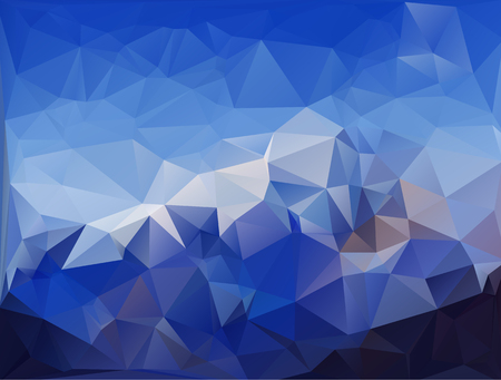 Blue colored geometric pattern