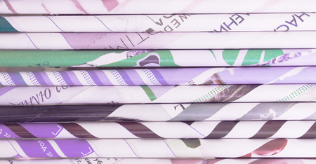 Paper tubes background