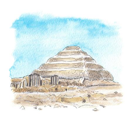 조세르의 이집트 피라미드