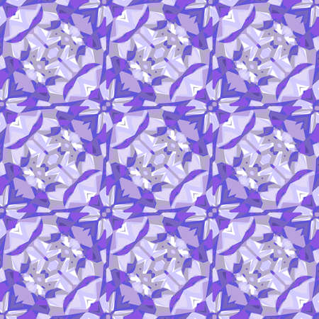 Seamless background with amethysts